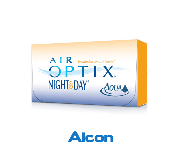 Alcon contact lens Product Box
