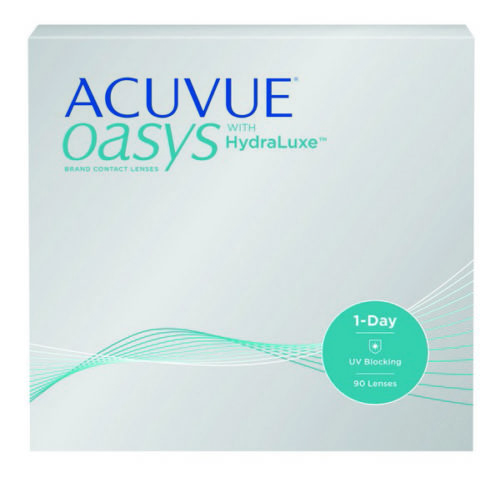 Acuvue Oasys 1-Day Contact Lenses Product Box 90 Pack