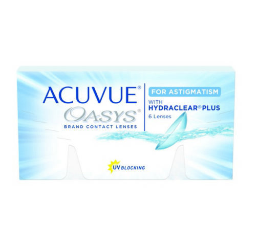 Acuvue Oasys Astigmatism Contact Lenses Product Box 6 Pack
