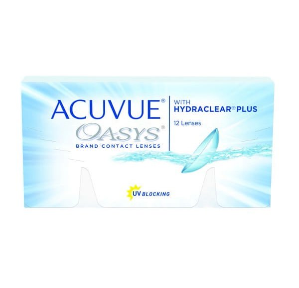 Acuvue Oasys Contact Lenses Product Box 12 Pack