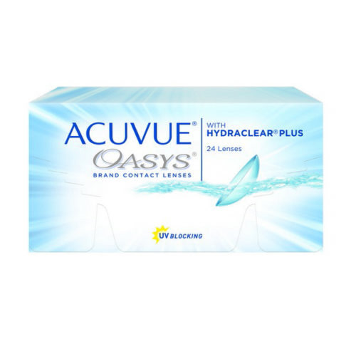 Acuvue Oasys Contact Lenses Product Box 24 Pack