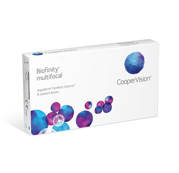 CooperVision Biofinity Multifocal Box