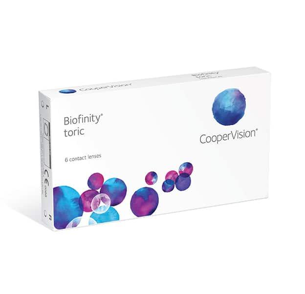 CooperVision Biofinity Toric Box