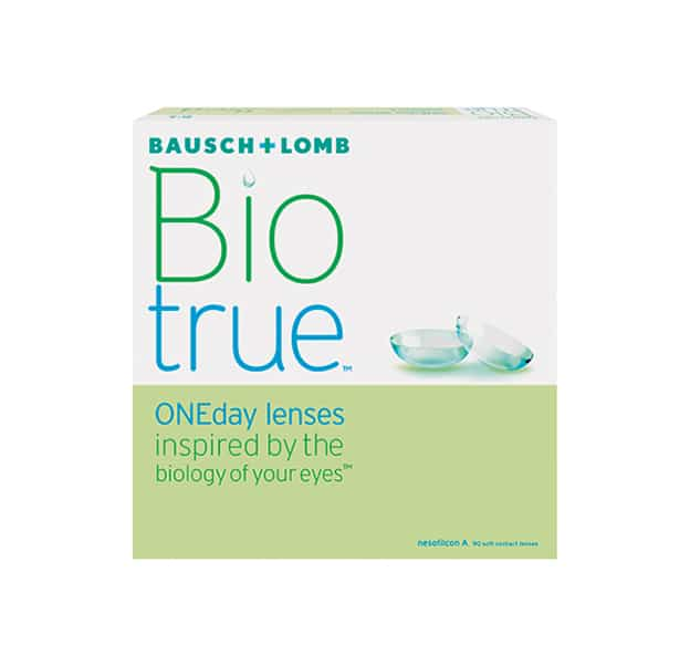 Bausch & Lomb Biotrue Contact Lenses Product Box