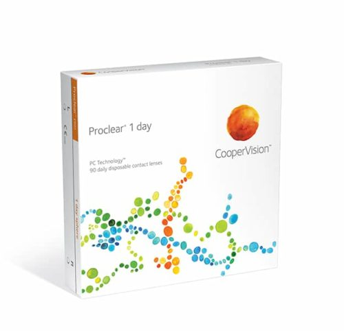 CooperVision Proclear 1 Day Product Box