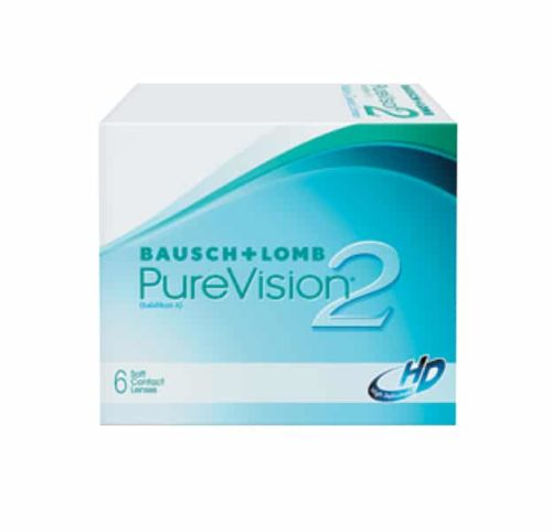Bausch & Lomb Purevision2 Contact Lenses Product Box