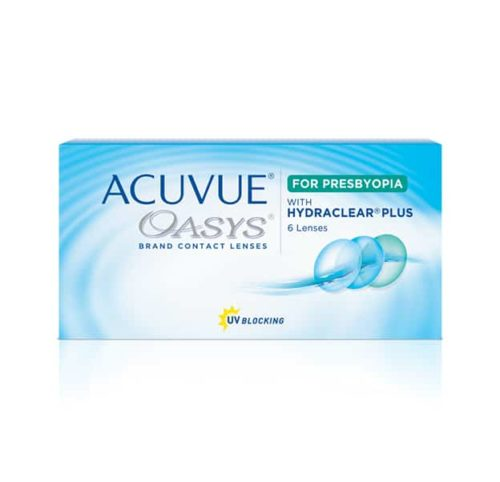 Acuvue Oasys for Presbyopia Product Box