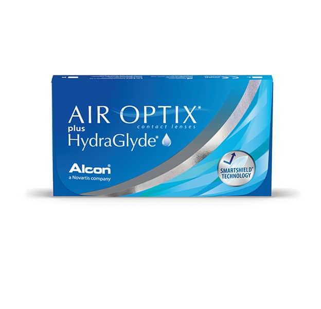 Alcon Air Optix Plus HydraGlyde Product Box