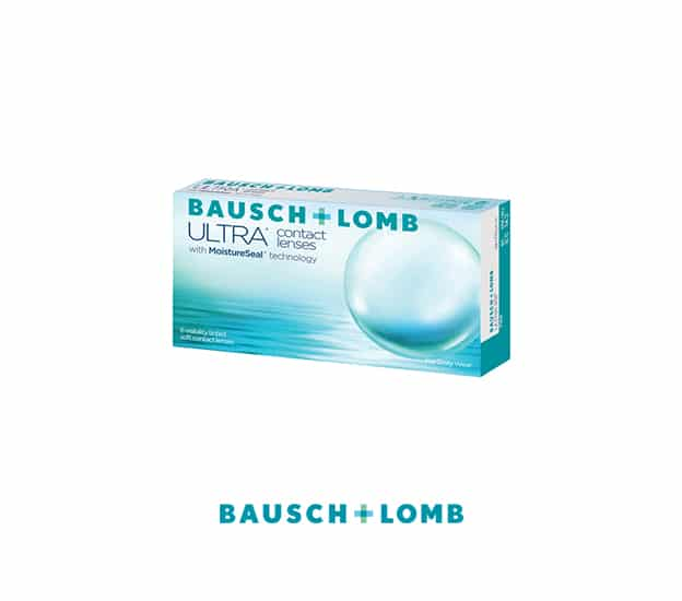 Bausch & Lomb Ultra Contact Lenses Product Box