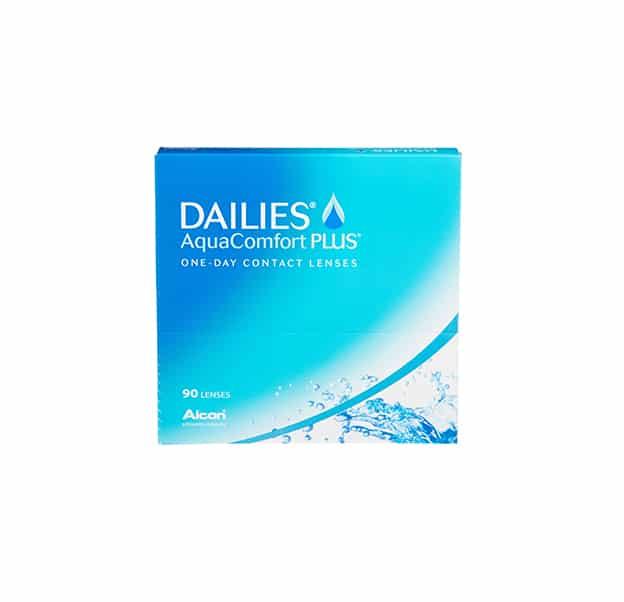 Alcon Dailies AquaComfort Plus Product Box 90 Pack