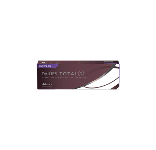 Dailies Total1 Multifocal Breathable One-Day Contact Lenses Box